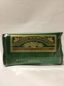 ゴールデンバージニアのシャグのパッケージの写真