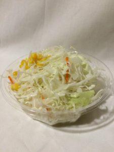 ほっともっとのサラダの写真
