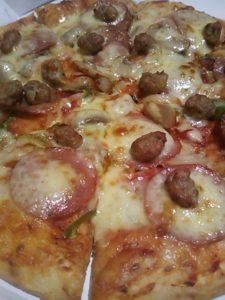 ピザポケットのピザ(リトルミックス)の写真