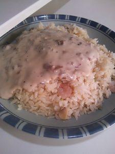 学食で食べた思い出の味(ニセドリア)を家で作った写真