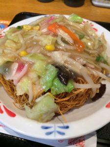 長崎ちゃんぽんリンガーハットのスナック皿うどんの写真
