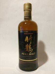 ウイスキー投資用に買ったジャパニーズウイスキー竹鶴ピュアモルトの写真