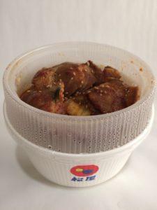 松屋の豚キムチ定食の写真