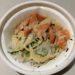 すき家のオニオンサーモン丼の写真